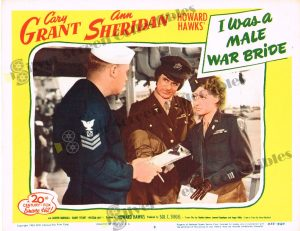 Lobby Card from I Was a Male War Bride