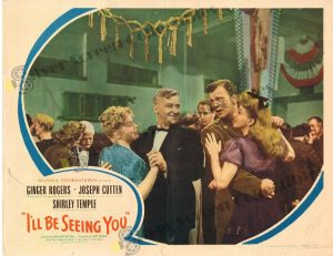 Lobby Card From I'll Be Seeing You