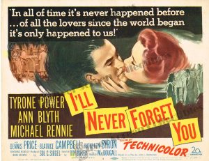 Lobby Card From I'll Never Forget You