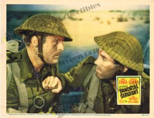 Lobby Card From Immortal Sergeant