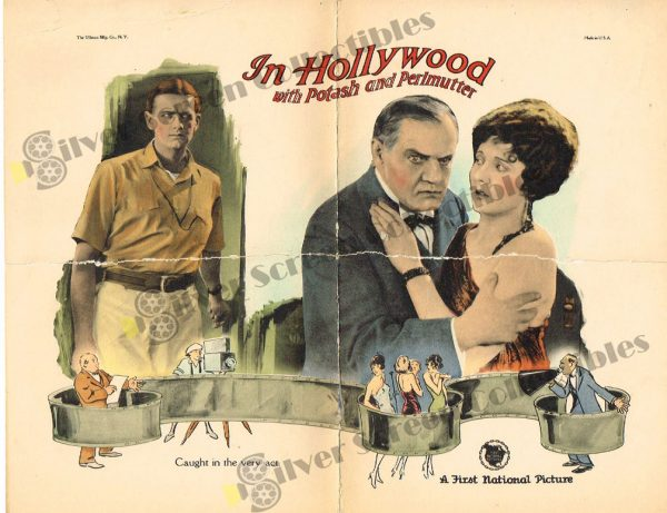Lobby Card from In Hollywood with Potash and Perlmutter