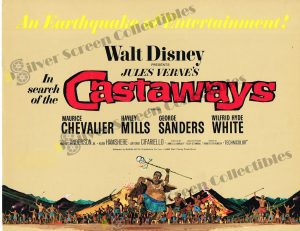 Lobby Card from In Search of The Castaways