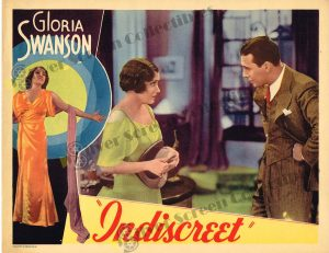 Lobby Card From Indiscreet