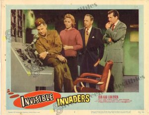 Lobby Card from Invisible Invaders