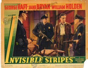 Lobby Card From Invisible Stripes