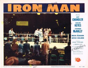 Lobby Card From Iron Man