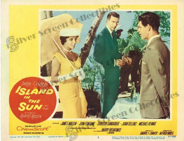 Lobby Card from Island in The Sun