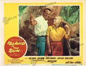 Lobby Card from Island in The Sun