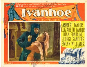 Lobby Card from Ivanhoe