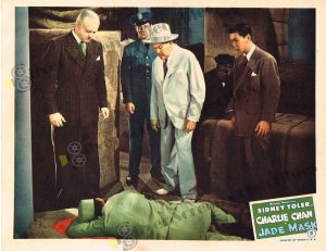 Lobby Card From Jade Mask (Charlie Chan)