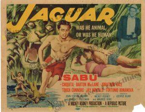 Lobby Card from Jaguar
