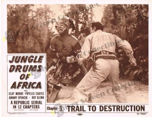 Lobby Card from Jungle Drums of Africa