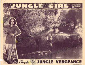 Lobby Card from Jungle Girl