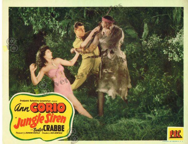 Lobby Card from Jungle Siren