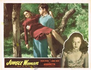 Lobby Card from Jungle Woman