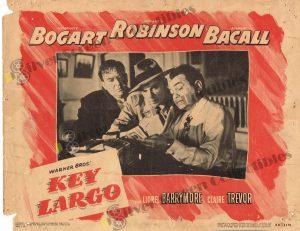 Lobby Card From Key Largo