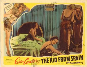 Lobby Card from The Kid From Spain