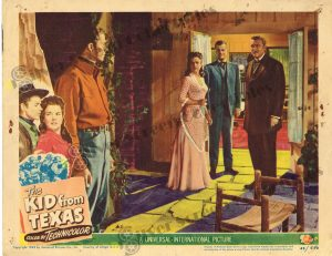 Lobby Card From The Kid from Texas