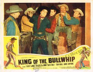 Lobby Card From King of the Bullwhip