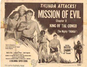 """Lobby Card from King of The Congo (The Mighty """"Thunda"""")"""