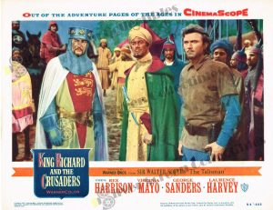 Lobby Card from King Richard and The Crusaders