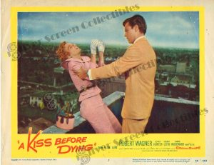 Lobby Card From A Kiss Before Dying