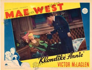 Lobby Card From Klondike Annie