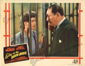 Lobby Card From Lady in the Death House