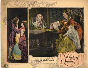Lobby Card from A Lady of Quality