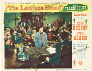 Lobby Card From The Lawless Breed