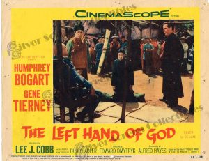 Lobby Card From The Left Hand of God