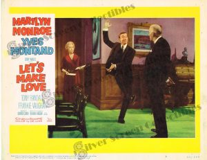 Lobby Card From Let's Make Love