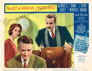 Lobby Card From The List of Adrian Messenger