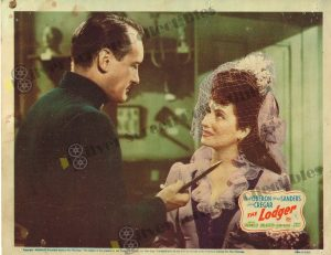 Lobby Card From The Lodger