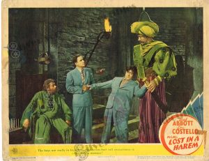 Lobby Card From Lost in a Harem