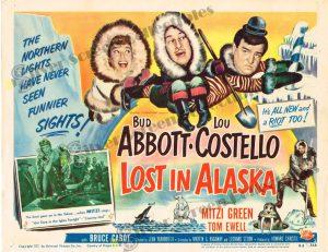 Lobby Card From Lost in Alaska