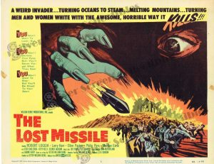 Lobby Card from The Lost Missile
