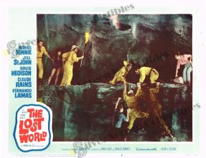 Lobby Card from The Lost World