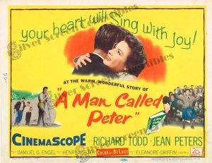 Lobby Card From A Man Called Peter