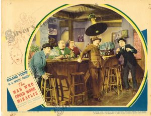 Lobby Card From The Man Who Could Work Miracles
