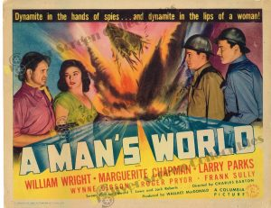 Lobby Card From A Man's World
