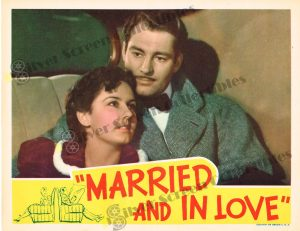 Lobby Card from Married and in Love