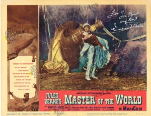Lobby Card from Master of The World