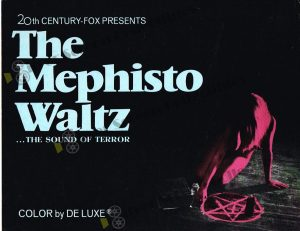 Lobby Card from The Mephisto Waltz