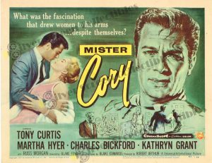 Lobby Card From Mister Cory