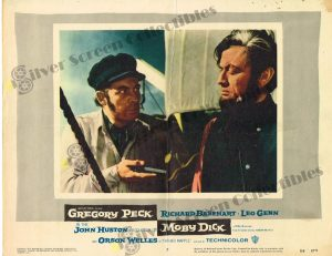 Lobby Card from Moby Dick