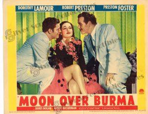 Lobby Card from Moon over Burma