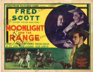 Lobby Card from Moonlight on The Range