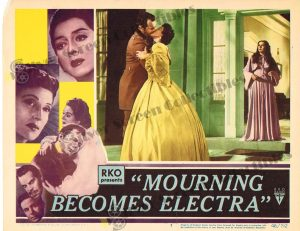 Lobby Card from Mourning Becomes Electra