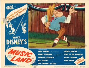 Lobby Card from Music Land